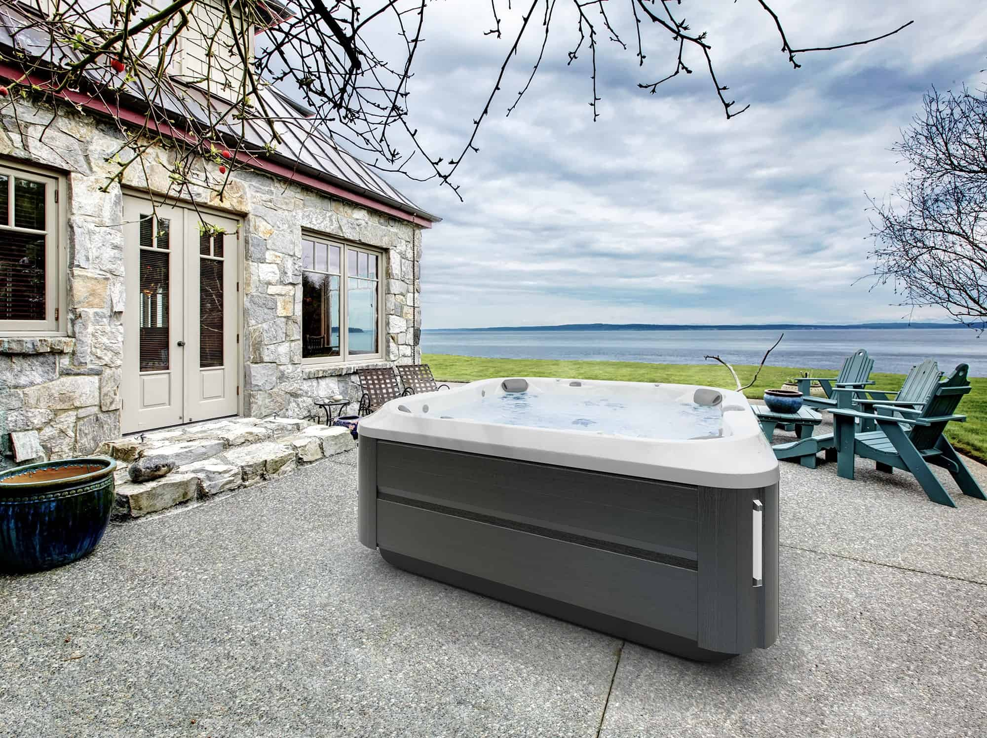 J-385 Jacuzzi Hot Tub seats up to 7 adults