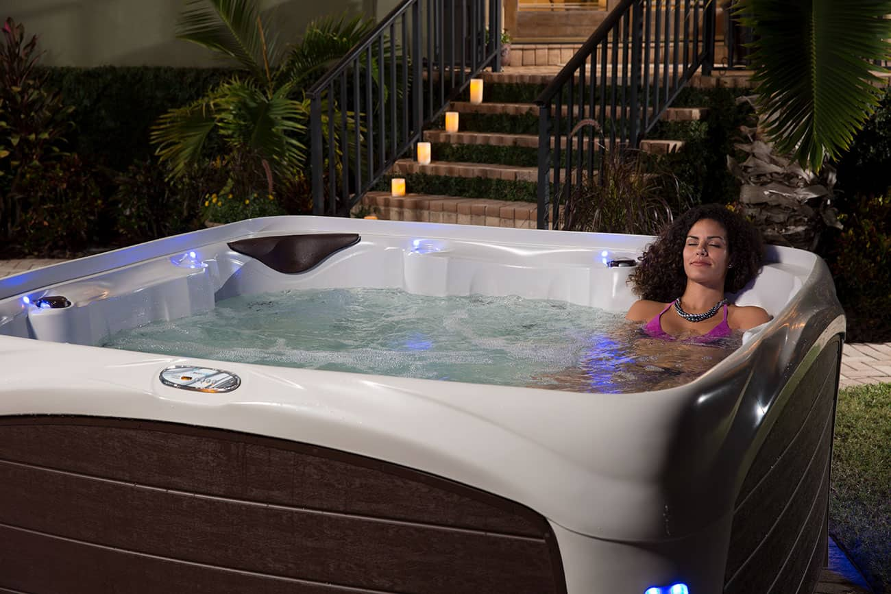 Dream Maker Spa Relaxation at night