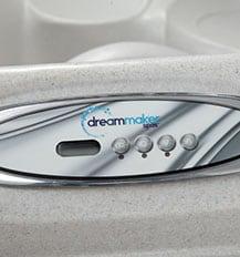 Dream Maker Spa digital controls