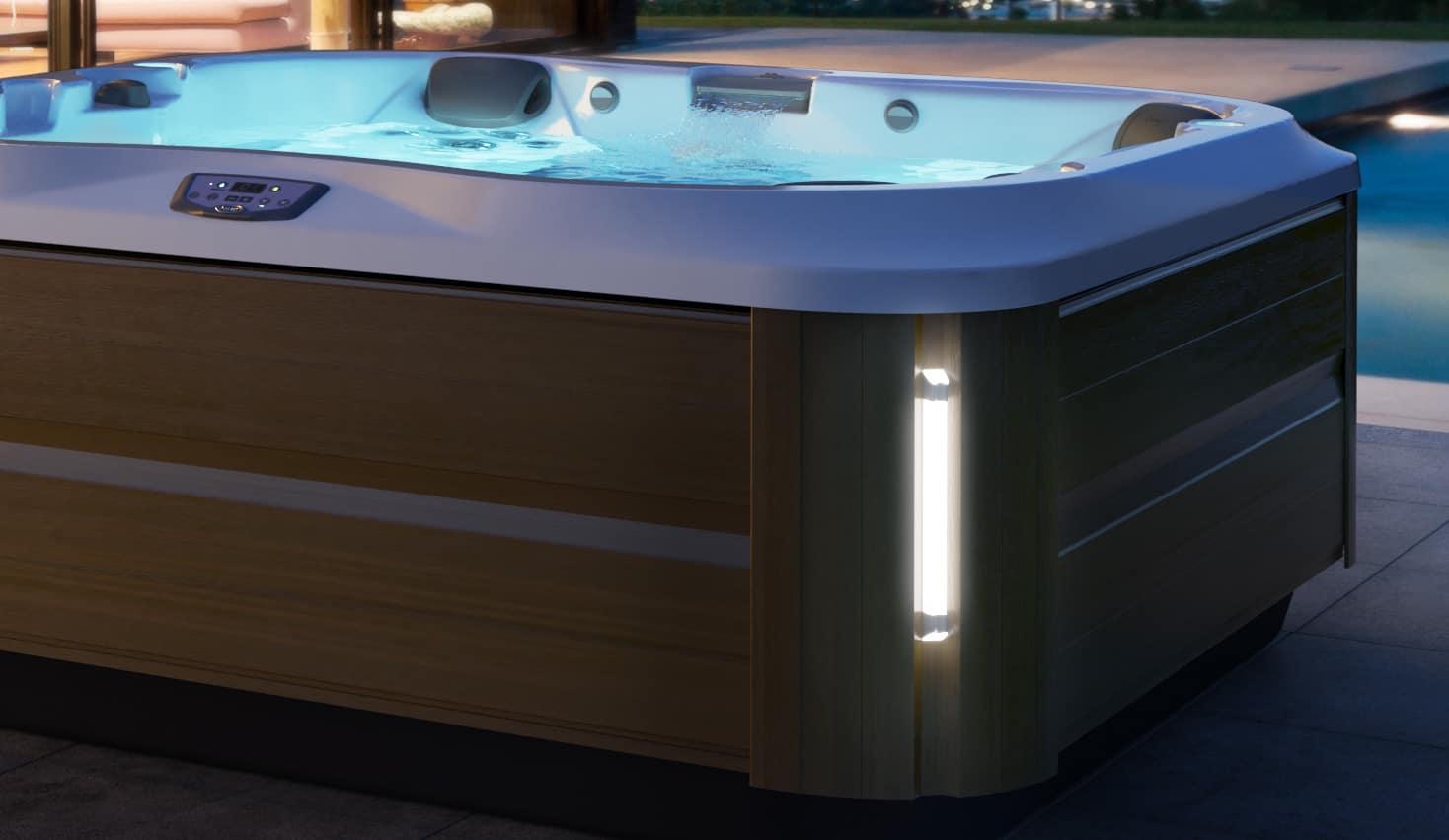 j-335 hot tub cabinet design