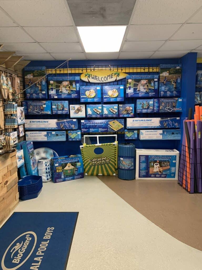 ocala pool boys showroom in florida