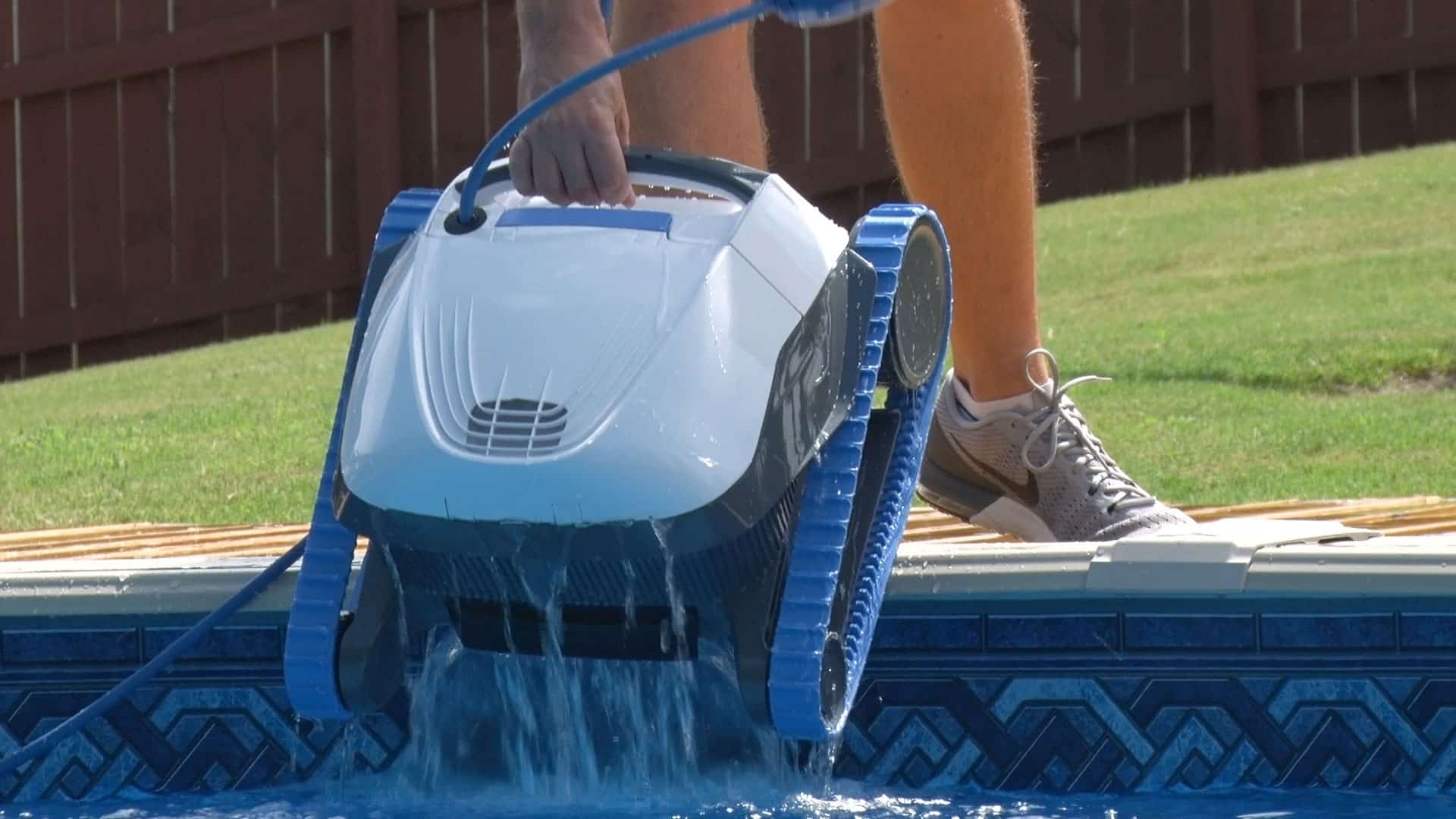 Dolphin S50 Robotic Pool Cleaner