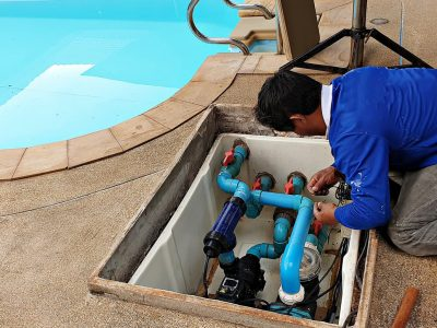 Pool service inspections in Ocala