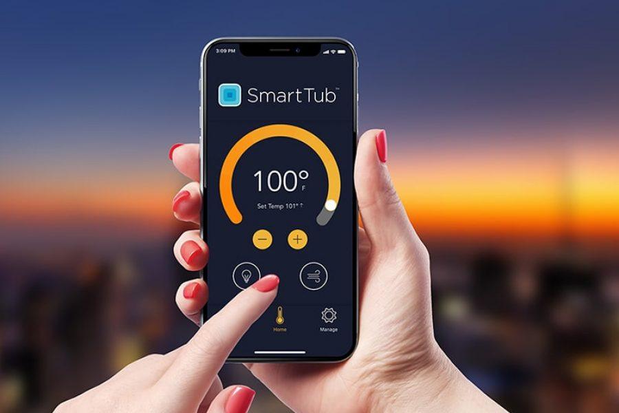 SmartTub System hot tub controls